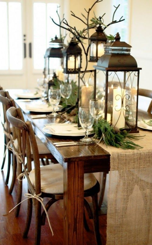 Inspired Space-Dining Table Styling
