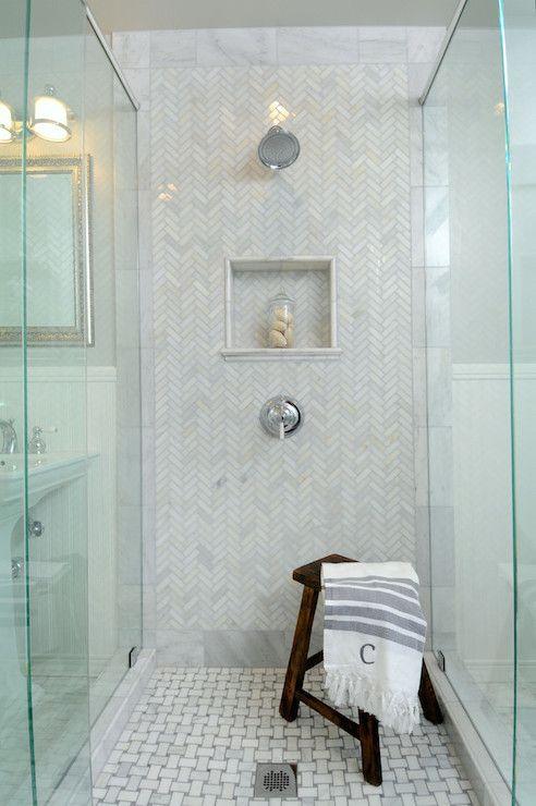 Herringbone Tiles-Inspired Space