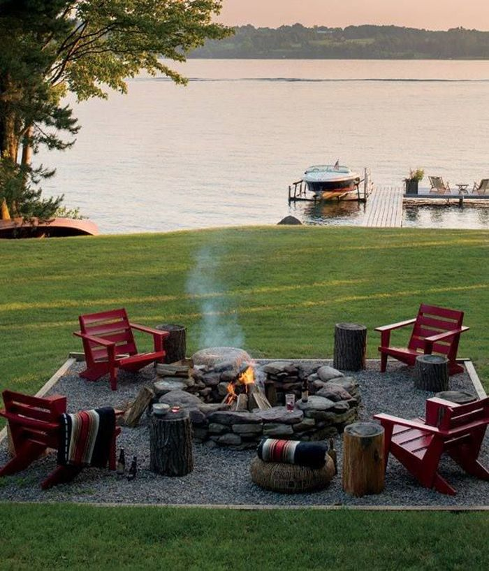 Inspired Space-Firepit Style