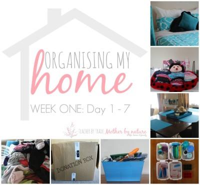 week-one-organising-my-home