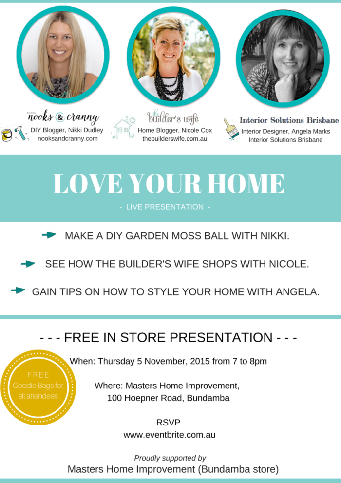 Love Your Home Flyer