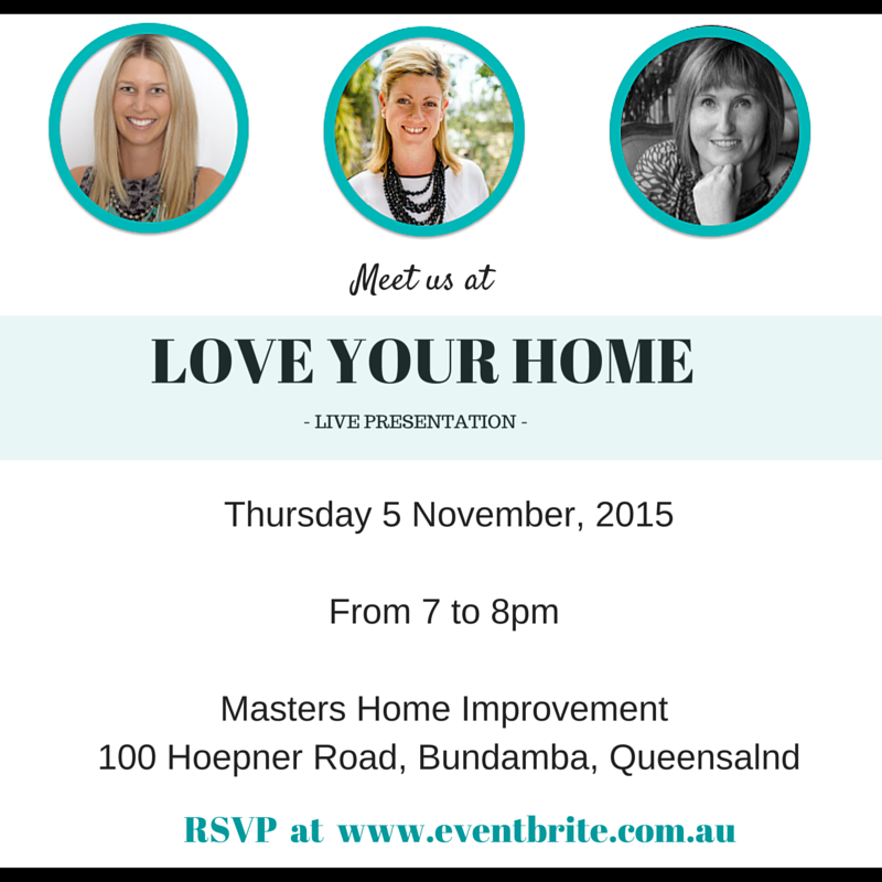 Love Your Home-My First Live Presentation