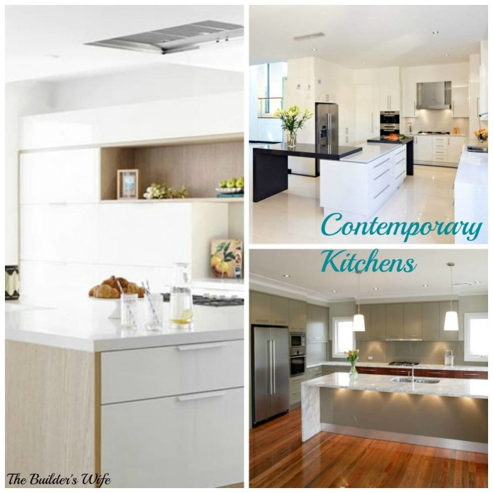 The Builders Wife Contmeporary Kitchen