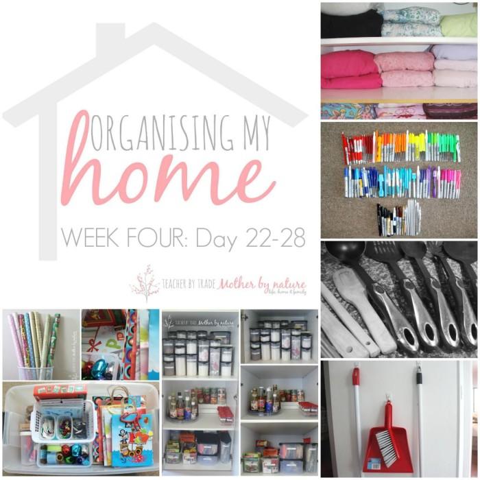 Week-four-organising-my-home