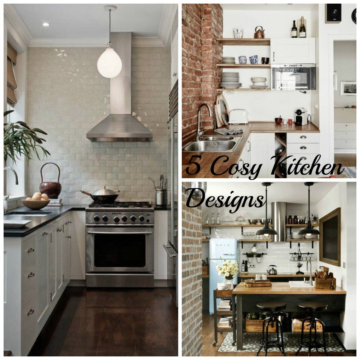 5 Small Kitchen Designs-Inspired Space