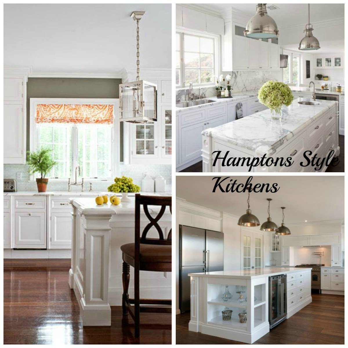 Hamptons Style Lighting: 5 Hamptons Style Kitchen Designs-Inspired Space