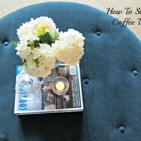 TBW How To Style A Coffee Table