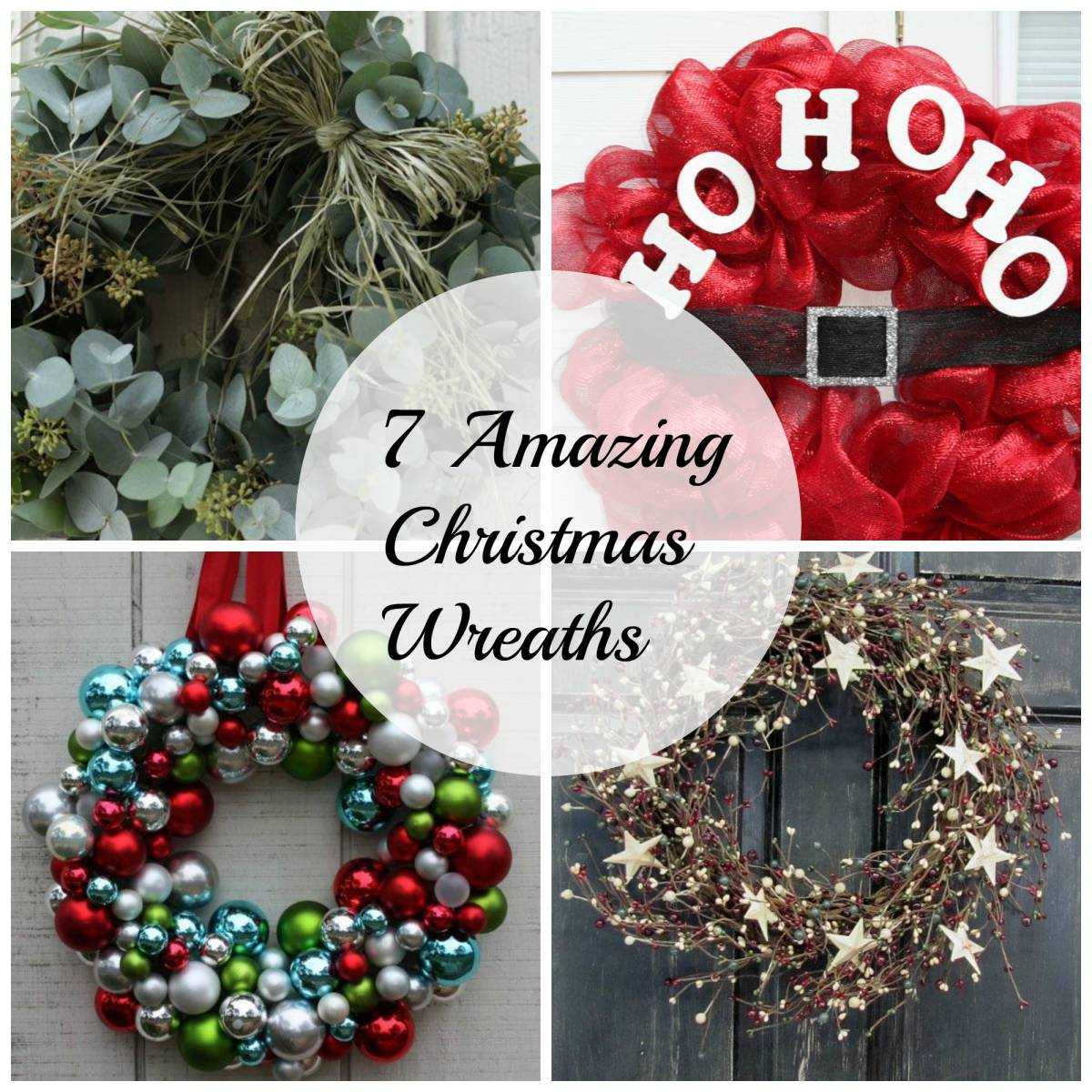 7 Amazing Christmas Wreaths-Inspired Space