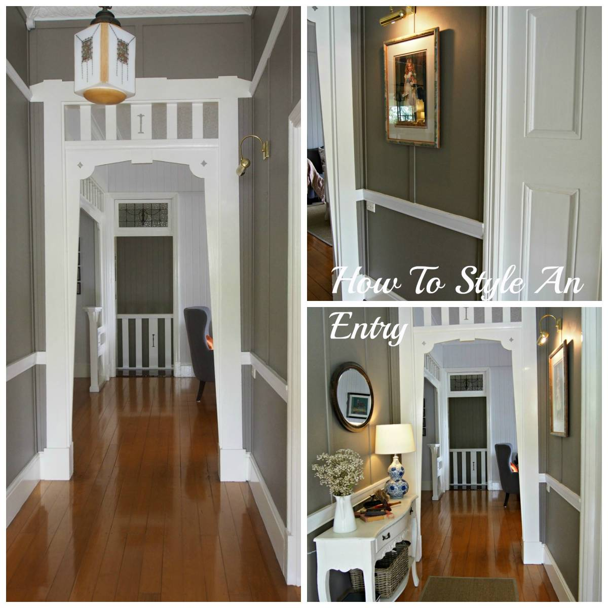 Styling An Entry-Home Improvement Thursday #HIT