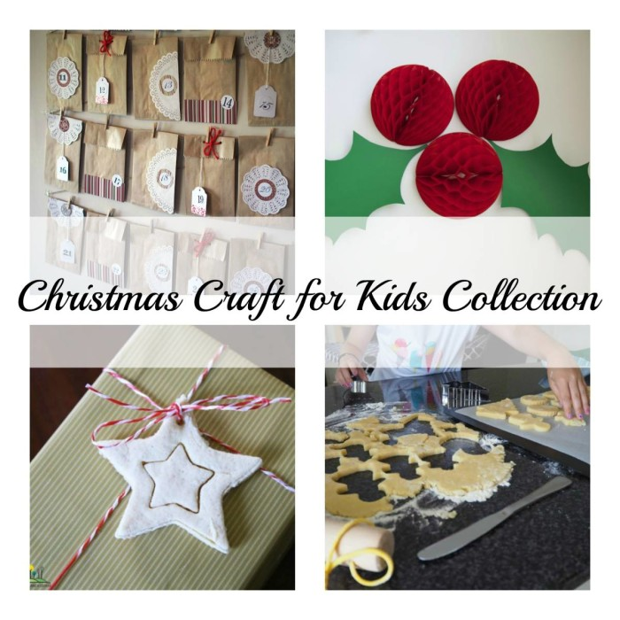 Christmas Craft Collage