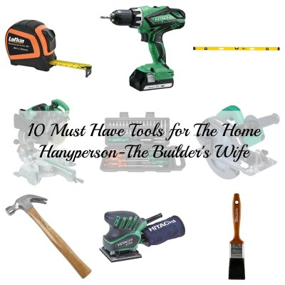 TBW 10 Must Have Tools for the Home Handyperson