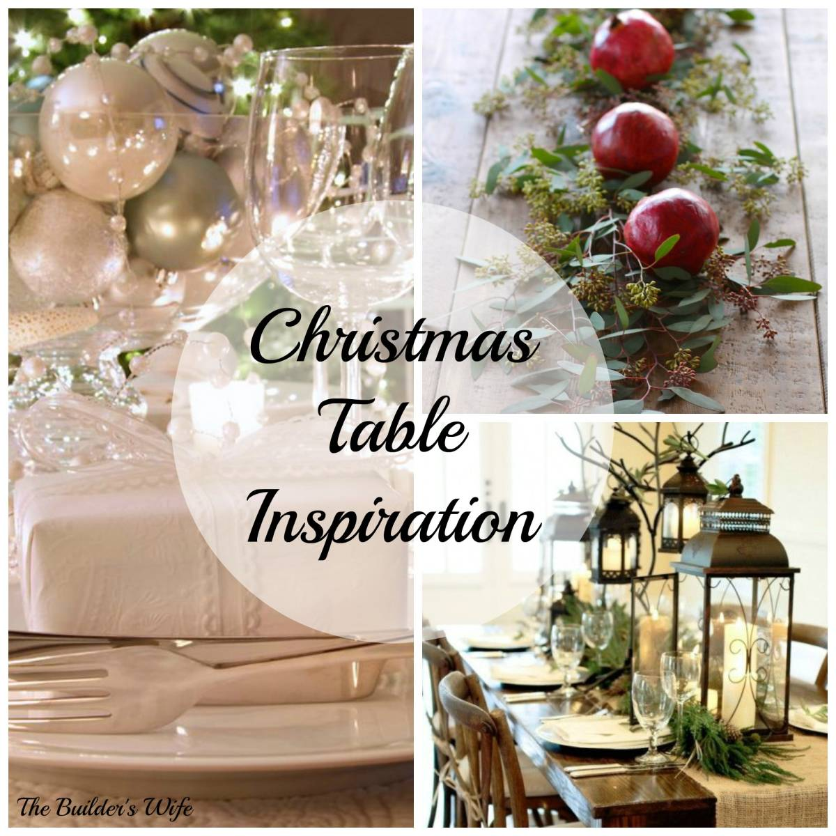Christmas Table Inspiration-Inspired Space