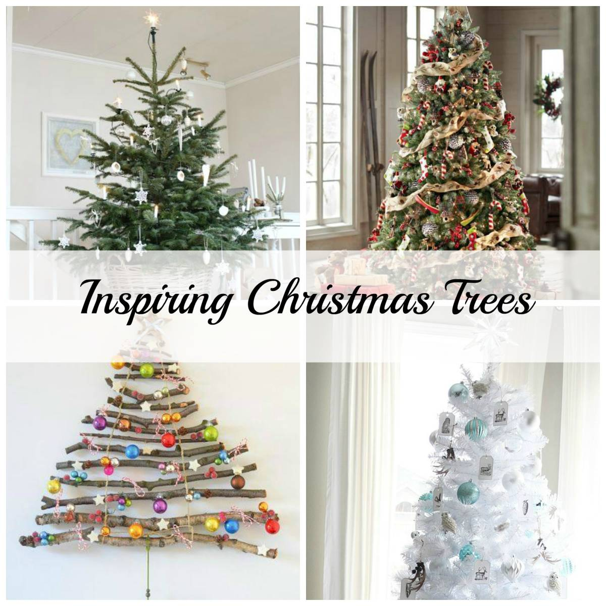 Christmas Tree Inspiration Inspired Space The Builder S Wife
