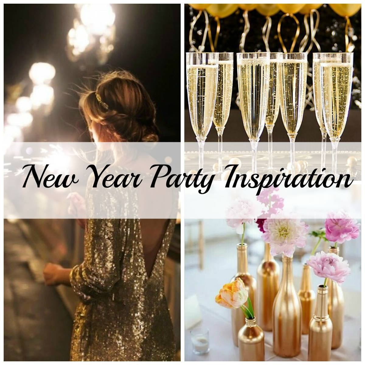 New Year Party Inspiration-Inspired Space