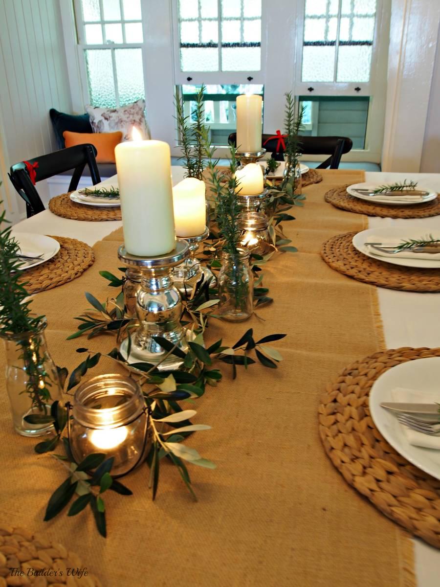 Pen Y Llechwedd-The Christmas Table