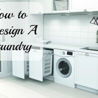 How to design a laundry