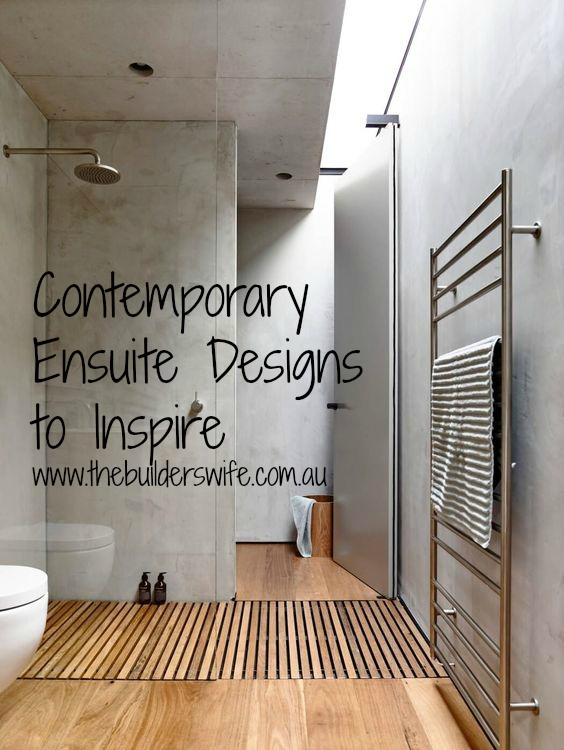Contemporary Ensuite – Inspired Space