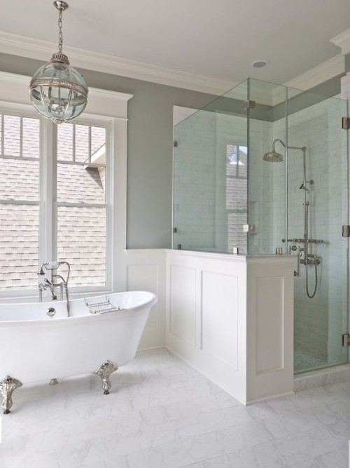 Hamptons Style Ensuite Inspired Space The Builder S Wife