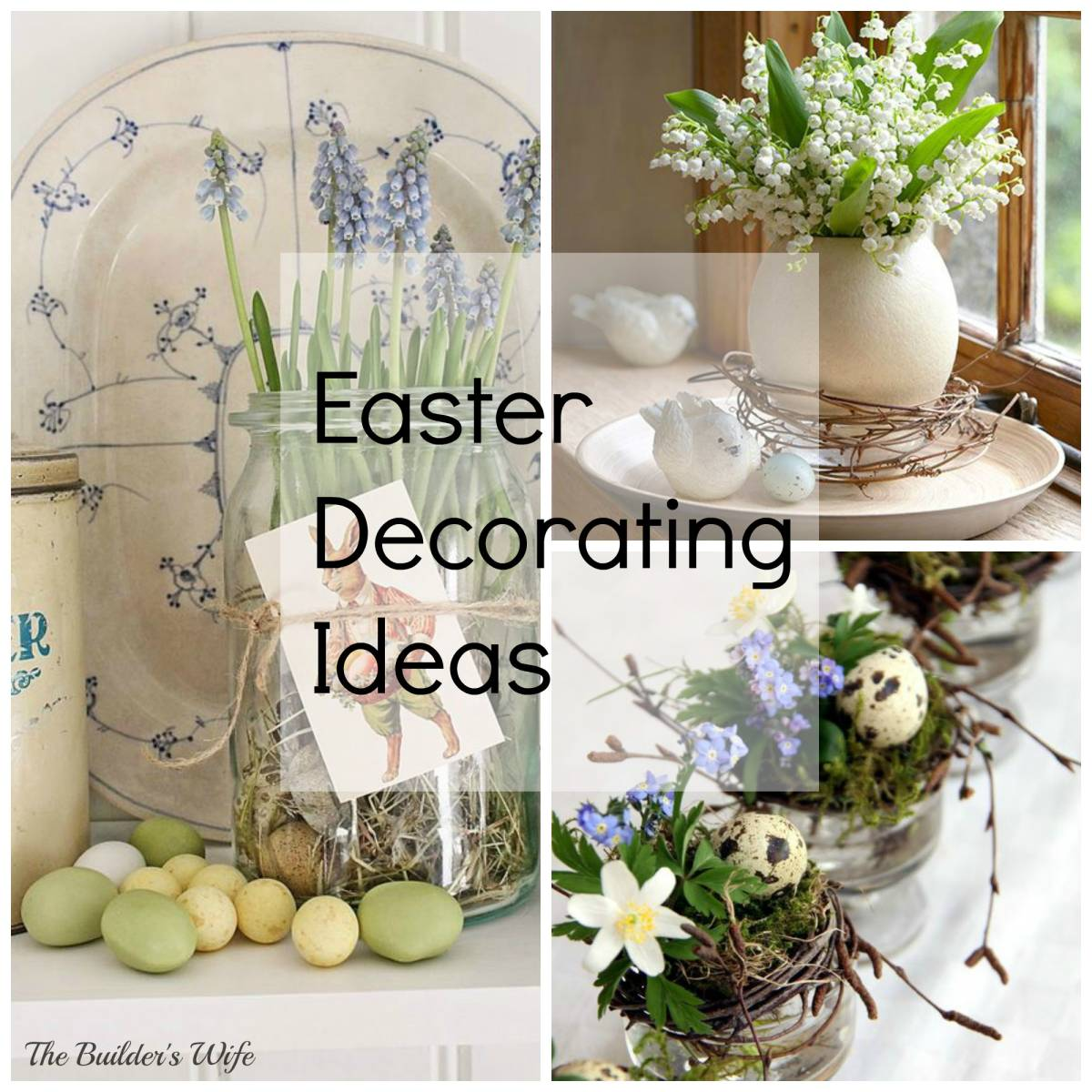 How to make easter decorations for the home 28 images for Easter home decorations