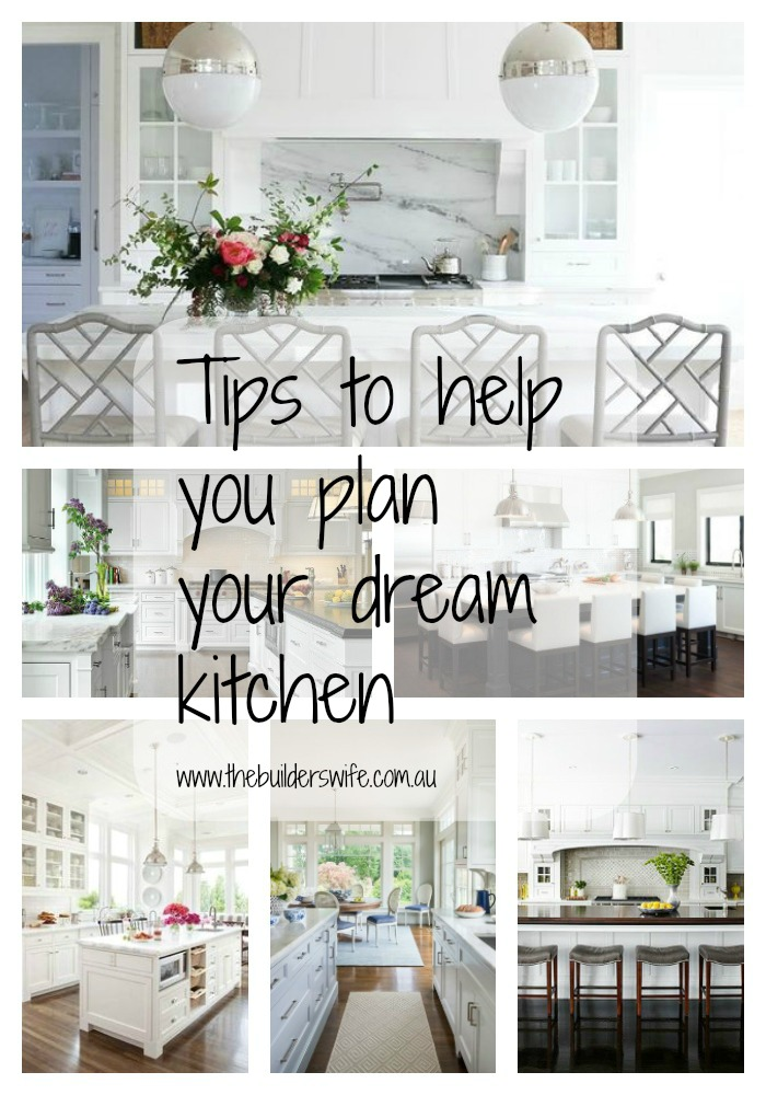 5 Dream Kitchen Must Haves: 5 Tips To Help Plan Your Dream Kitchen #HIT