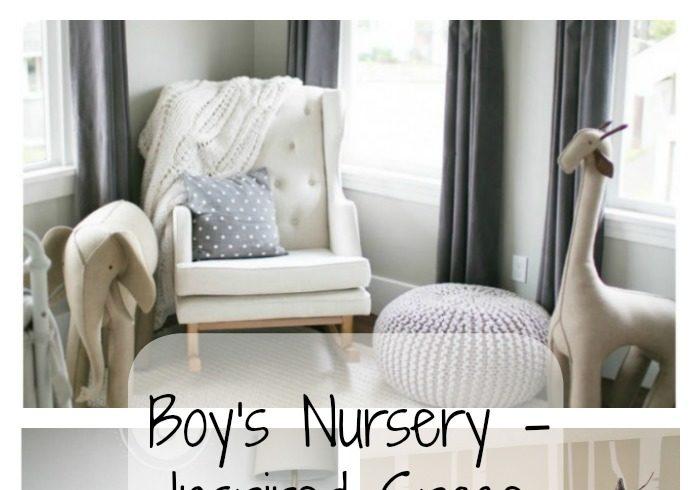 Boy's Nursery – Inspired Space