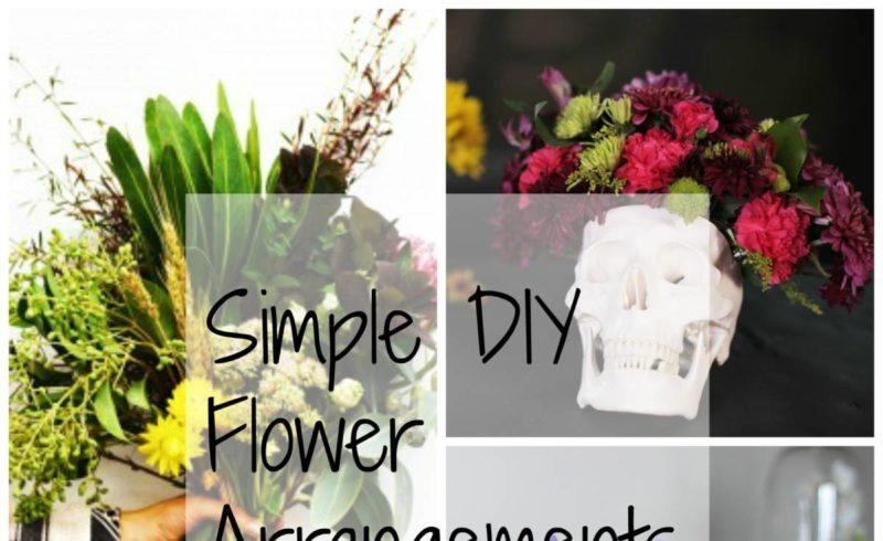 DIY Flowers – Home Improvement Thursday