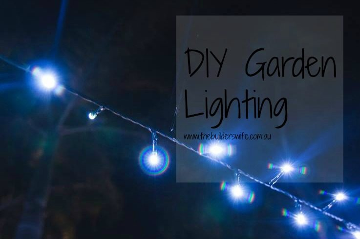DIY Garden Lighting – Home Improvement Thursday
