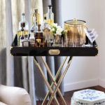9 Ways to Style A Bar Cart – Home Improvement Thursday