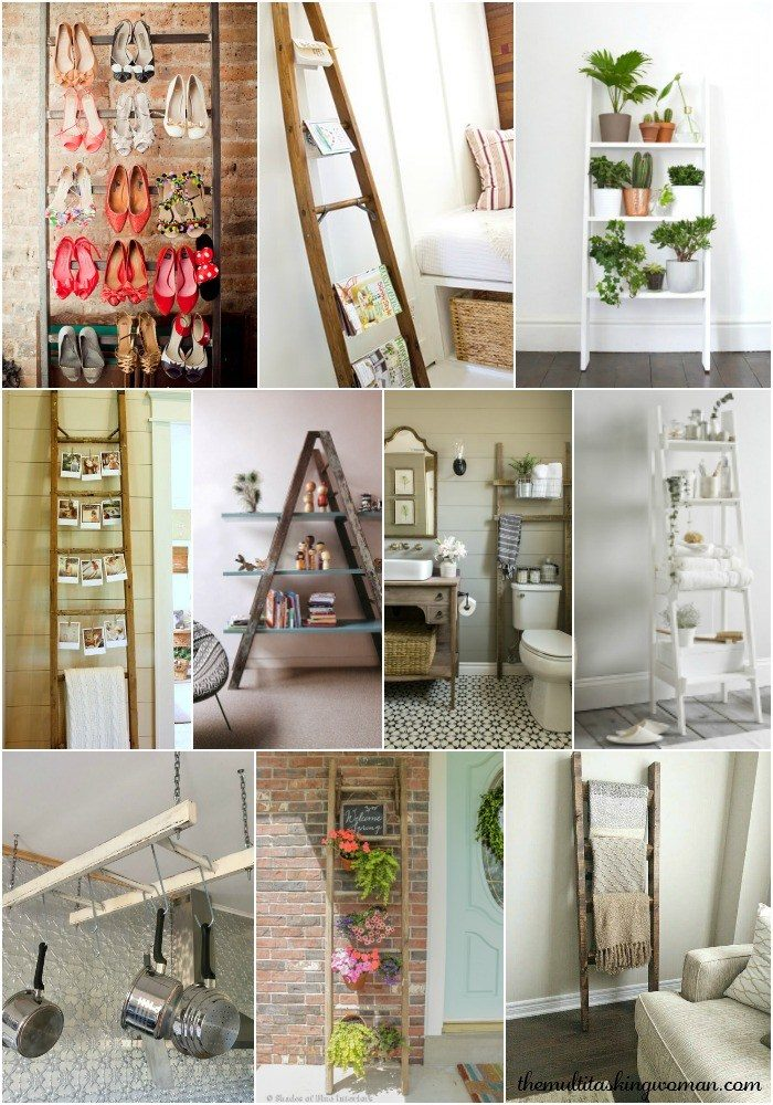 10-ways-to-style-a-wooden-ladder