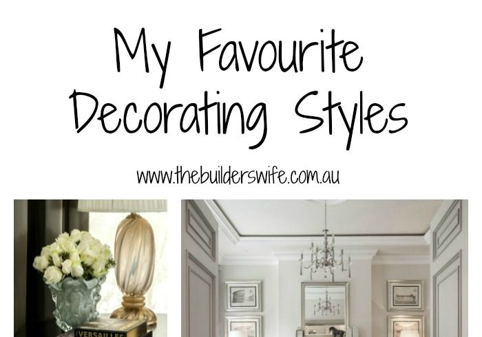 My Favourite Decorating Styles – #HIT