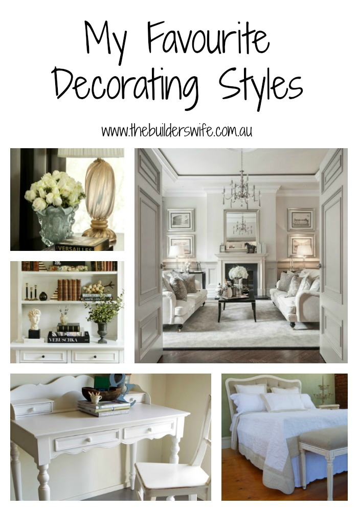My favourite decorating styles hit the builder 39 s wife for My kitchen design style