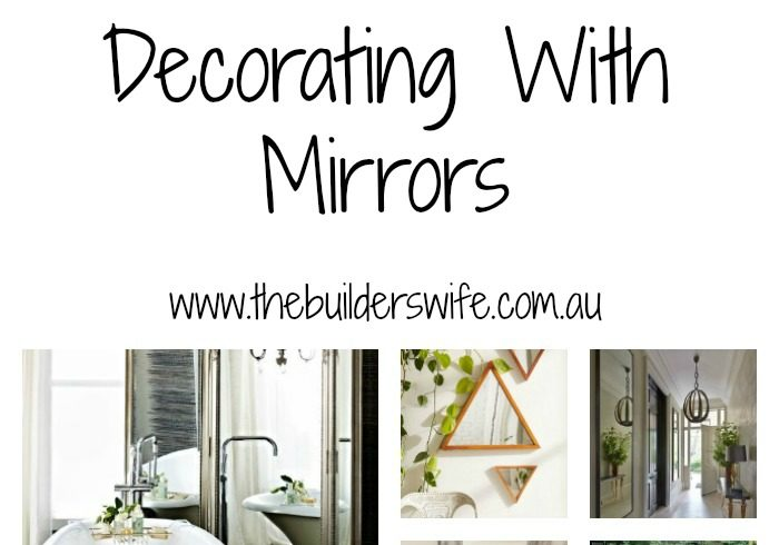 Decorating With Mirrors – #HIT