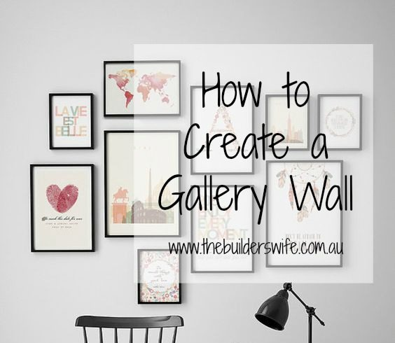 How To Create A Gallery Wall  #HIT