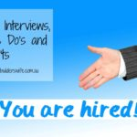 Job Interviews The Do's and Don'ts