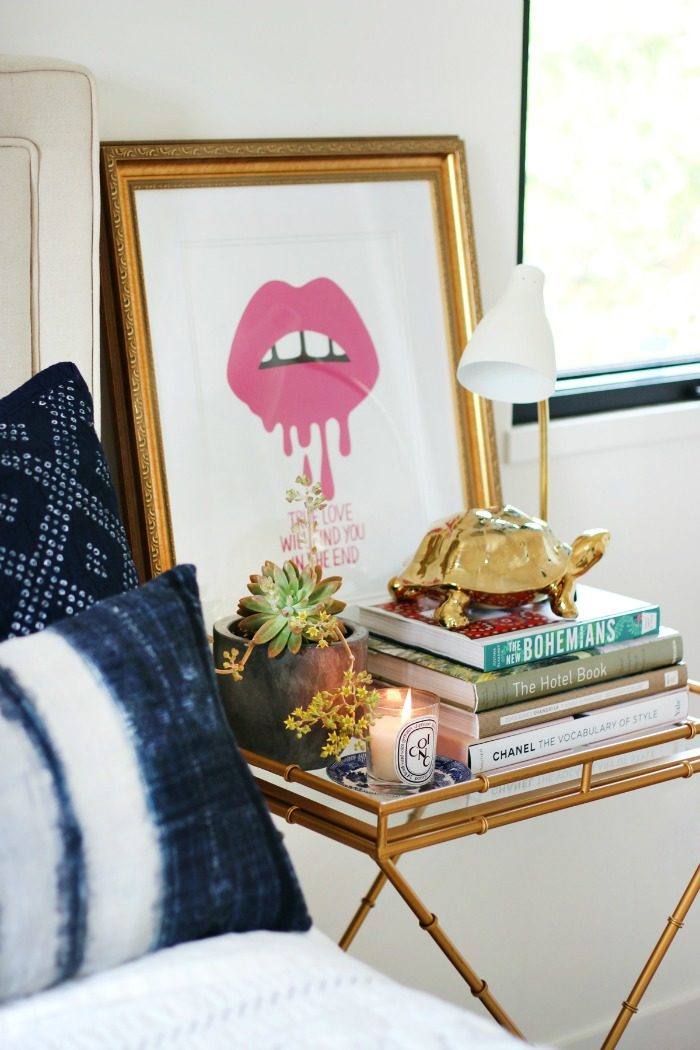 bedside-table-styling-ideas-vignette-styling-on-The-Life-Creative