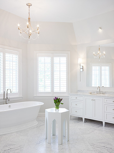 Hamptons Style Bathrooms Inspired Space The Builder S Wife