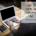 How To Write An Employment Ad – Toolbox Tips