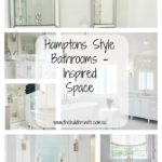Hamptons Style Bathrooms – Inspired Space