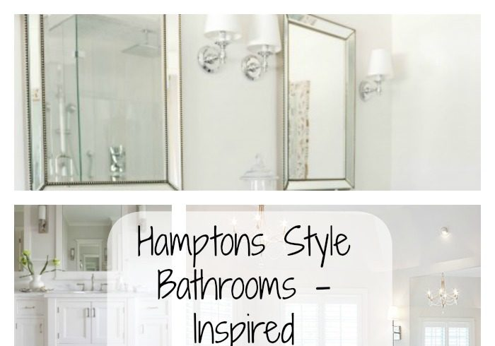 hamptons style bathrooms inspired space the builder 39 s wife. Black Bedroom Furniture Sets. Home Design Ideas