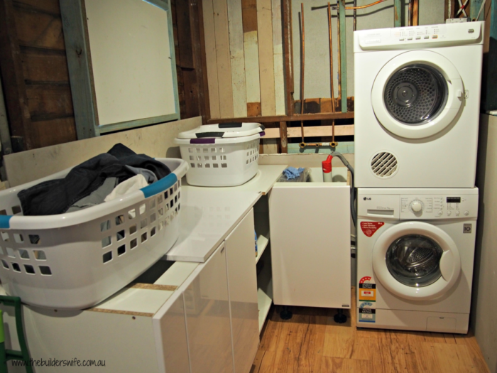 TBW Laundry During renovation