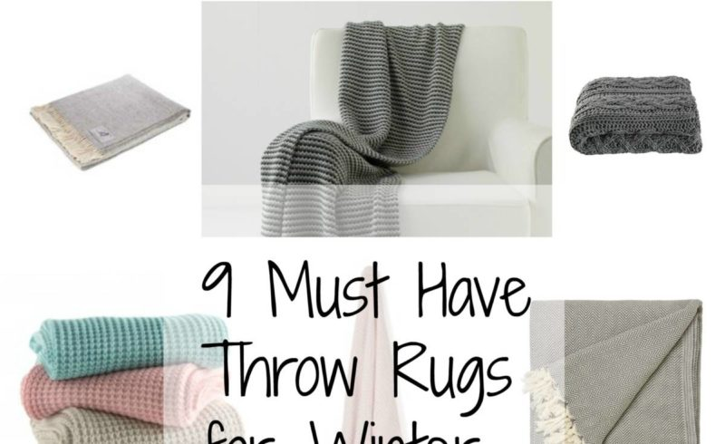 Throw Rugs For Winter – #HIT
