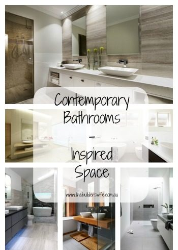 Contemporary Bathrooms – Inspired Space