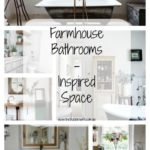 Farmhouse Bathrooms – Inspired Space