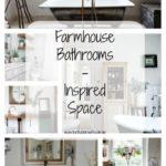 Farmhouse Bathrooms – Inspired Space