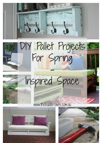 DIY Pallet Projects for Spring – Inspired Space