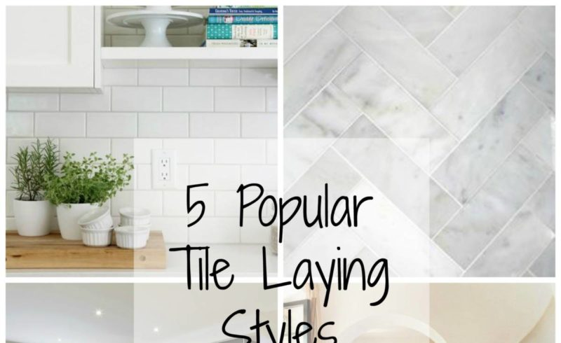 Styles of Tile Laying