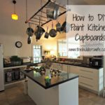 How to DIY Paint Kitchen Cupboards – #HIT