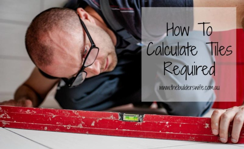How To Calculate The Amount of Tiles Required