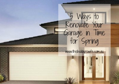 5 Ways to Renovate Your Garage in Time for Spring
