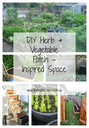 DIY Herb & Vegetable Patch – Inspired Space